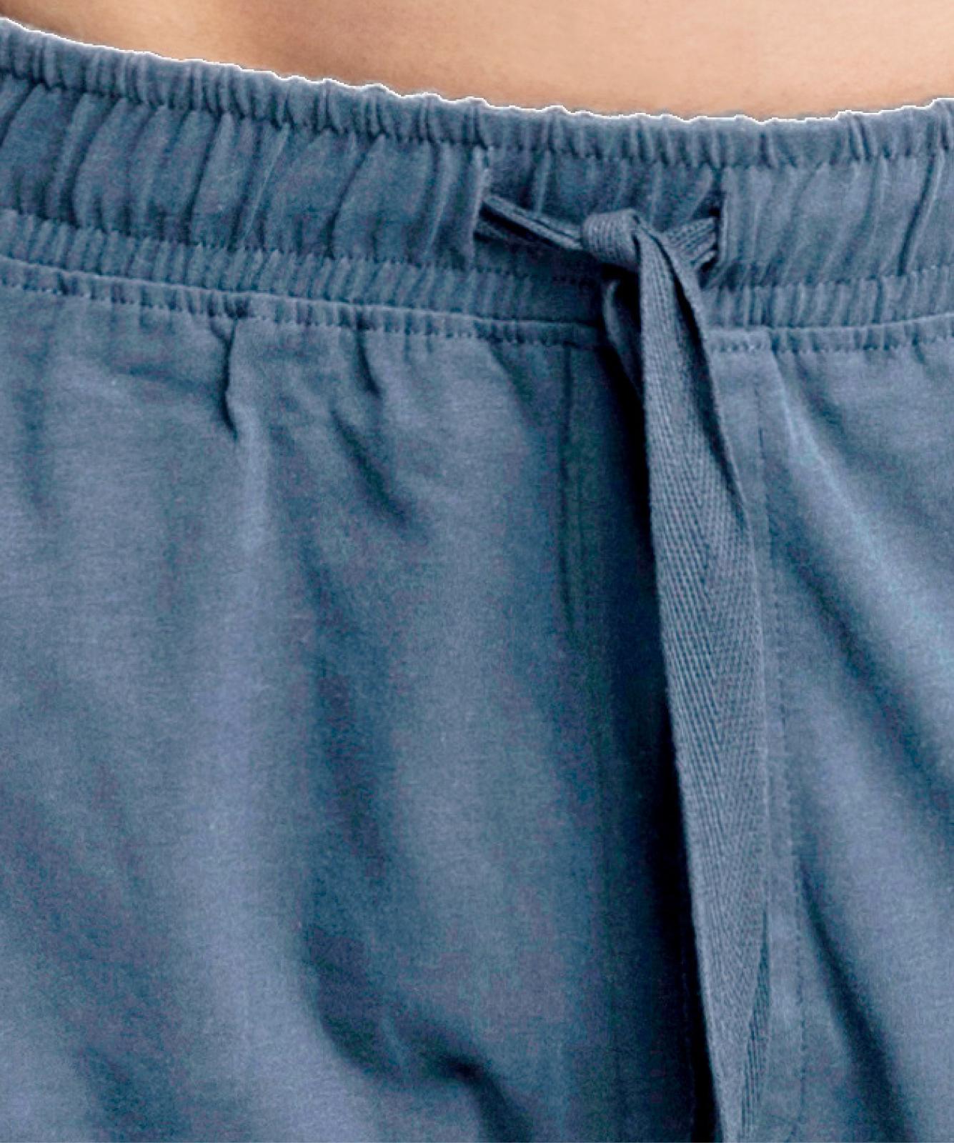 Мужские шорты пижамные Atlantic, 1 шт. в уп., хлопок, деним, NMB-039