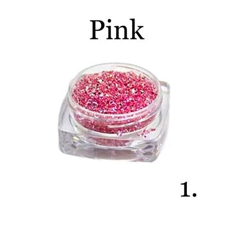 Хрустальная крошка(мелкая) розовая 1 купить за 350руб