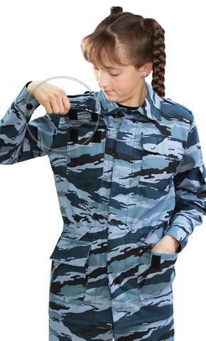 Костюм детский военно-полевой летний Серый камыш опт