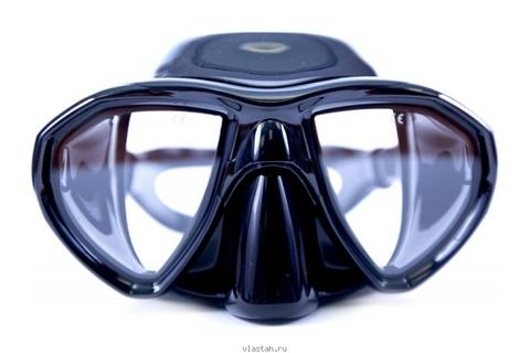 Маска САРГАН Кама черный силикон прозрачные линзы – 88003332291 изображение 1