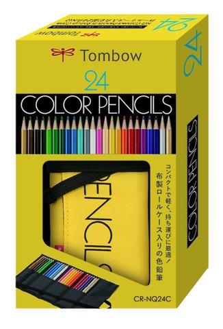 Цветные карандаши Tombow Color Pencil (24 шт - пенал)