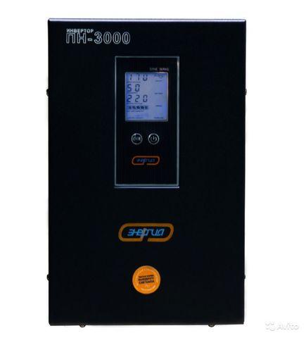 ИБП Энергия ПН 3000 (монохромный дисплей)