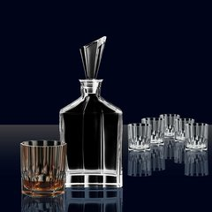 Набор для виски Nachtmann Aspen, декантер и 6 стаканов, фото 4