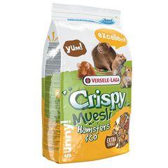 Корм для хомяков и других грызунов, Versele-Laga Crispy Muesli Hamsters & Co