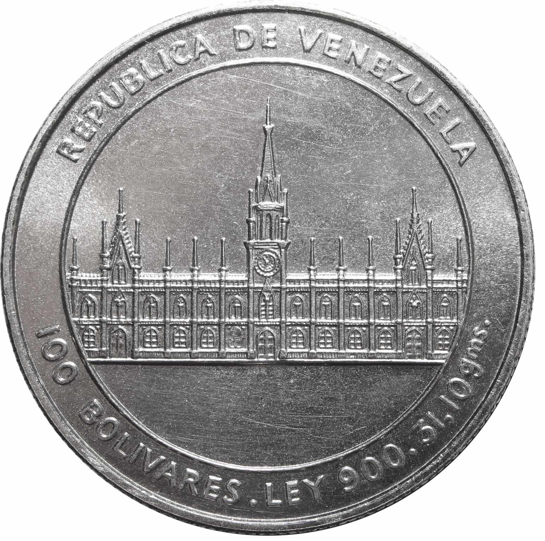 100 боливаров 1986 г.
