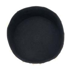 Корзина Lorena Canals Pebbles Black (30 x Ø45 см)