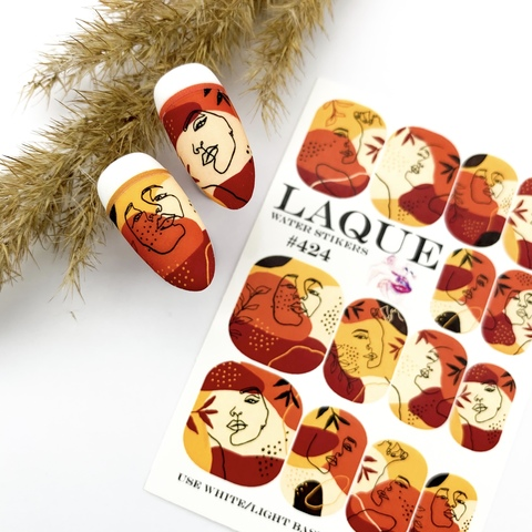 Слайдер дизайн Laque Stikers