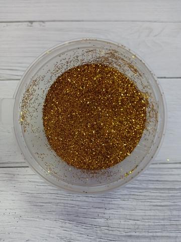 Глиттер (блестки) золото 20гр