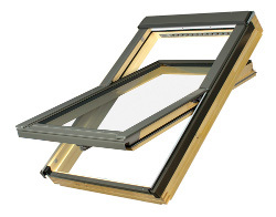 Мансардное окно со среднеповоротным открыванием FTS U2  FAKRO
