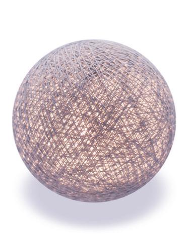 Хлопковый шарик серый