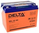 Аккумулятор Delta GEL 12-85  ( 12V 85Ah / 12В 85Ач ) - фотография