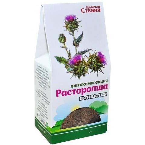 Чай моносостав Расторопша, 100гр (Стевия)