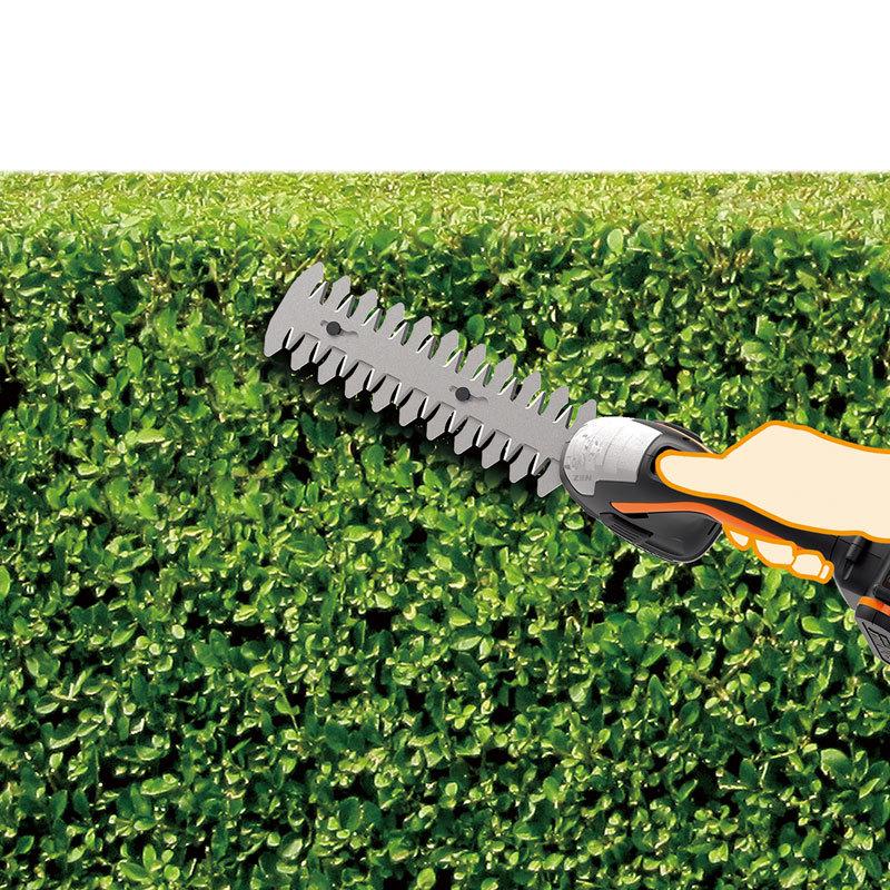 Ножницы для стрижки травы и кустарников WORX WG801E.9, 20В, без АКБ и ЗУ