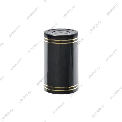 Колпачок Гуала 58 мм, черный, 10 шт