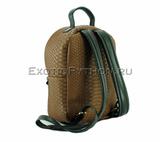 Рюкзак из кожи питона BG-279