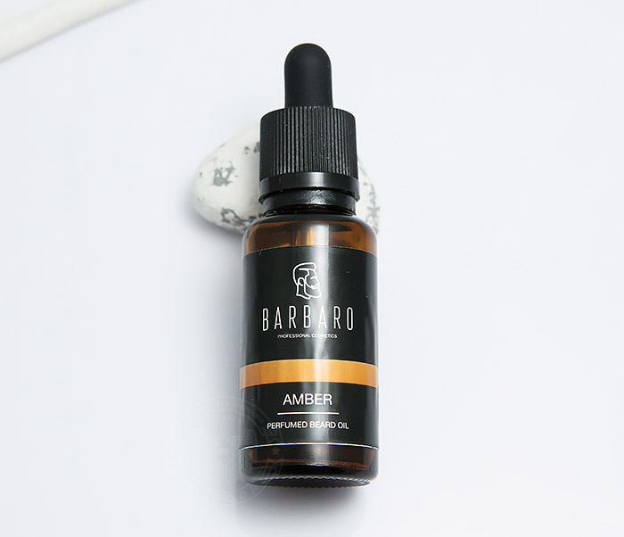 RAZ4003 Парфюмированное масло для бороды Barbaro «AMBER» (30 мл) фото 02