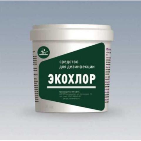 Средство дезинфицирующее Экохлор хлорные таблетки (300 штук в упаковке)