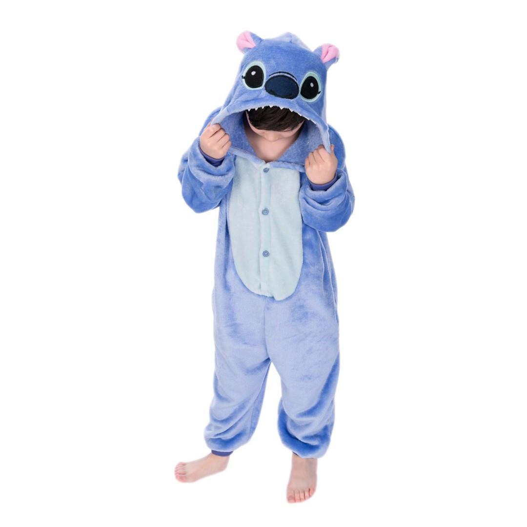 Плюшевые пижамы Голубой Стич детский 567371620_w640_h640_kigurumi_stich_detskij.jpg