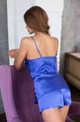 Комплект Mia-Mia васильковый 15142 шёлк натуральный