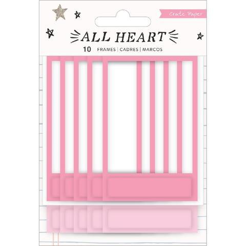 Фоторамки -All Heart от Crate Paper -10шт
