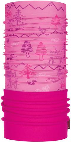 Шарф-труба трансформер детский Buff Polar Woods Pink фото 1