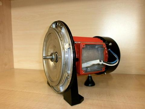 Двигатель эл. QUATTRO ELEMENTI G1001Inox в сборе (без сальника) (910-195-014026)