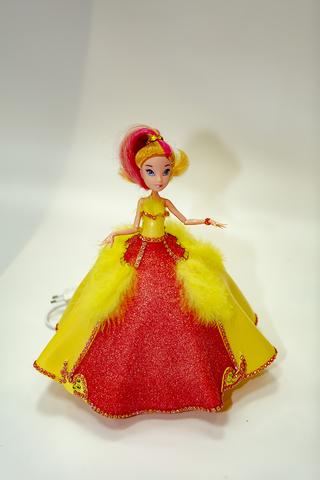 Светильник ночник кукла для детей