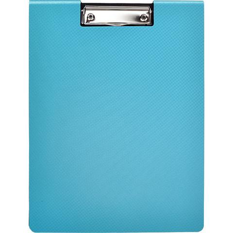 Папка-планшет Attache Selection А4 пластиковая бирюзовая с крышкой
