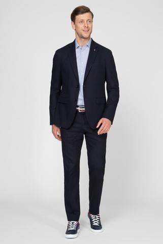 Мужской темно-синий пиджак FLEX COTTON SLIM FIT BLAZER Tommy Hilfiger