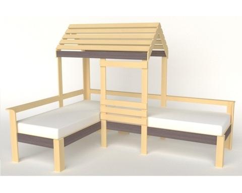 Кровать-домик АВАРА-4 правая