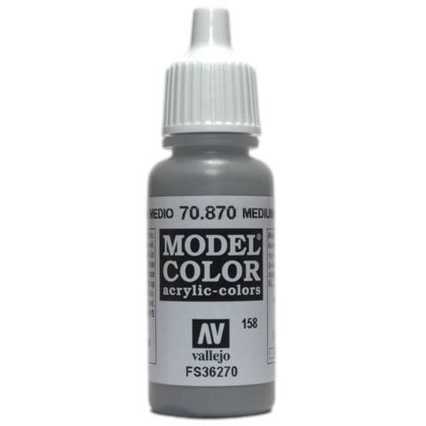 Model Color Medium Sea Grey 17 ml.