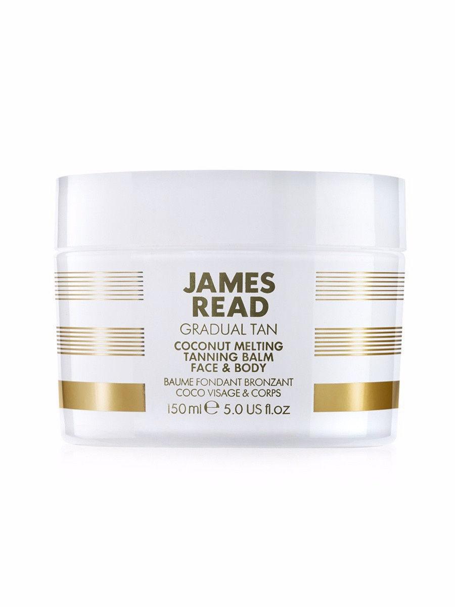 Бальзам кокосовый с эффектом загара James Read Gradual Tan Coconut Melting Tanning Balm Face&Body 150 мл