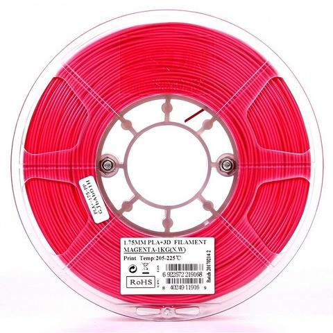 ESUN PLA+ 1.75 мм 1кг., пурпурнокрасный