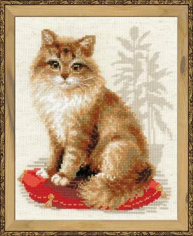 Набор для вышивания крестом «Кошка домашняя» (1525)