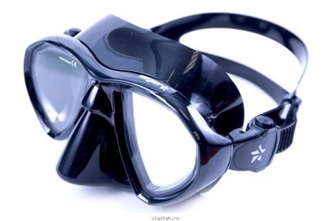 Маска САРГАН Кама черный силикон прозрачные линзы – 88003332291 изображение 2
