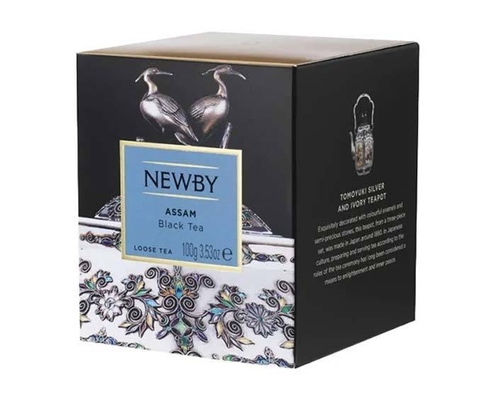 Чай черный листовой Newby Heritage Assam, 100 г