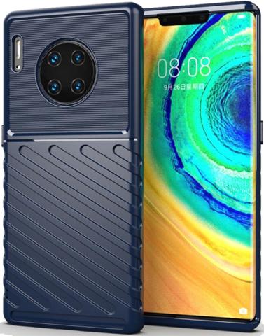 Чехол для Huawei Mate 30 Pro (Mate 30 RS) цвет Blue (синий), серия Onyx от Caseport