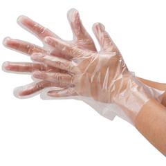 Перчатки полиэтиленовые (100 штук)