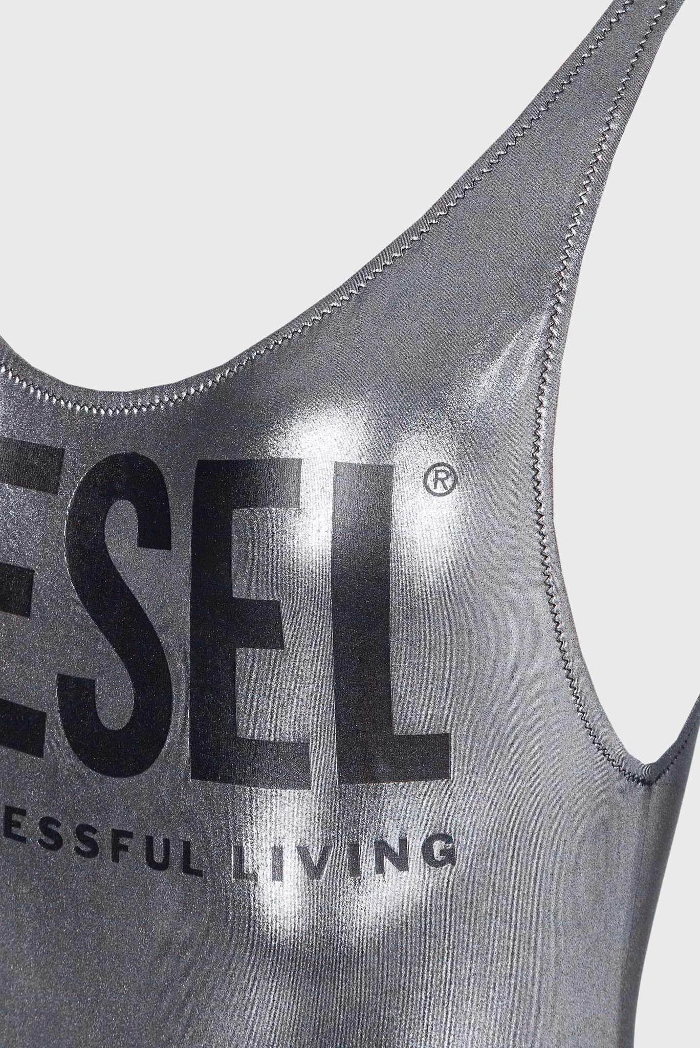 Женский серебристый купальник FSW-LIA Diesel