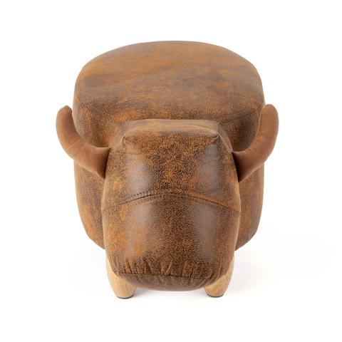 Пуф дизайнерский La Vache коричневый