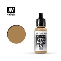 Model air 066-17ml. Gold (metalizado)