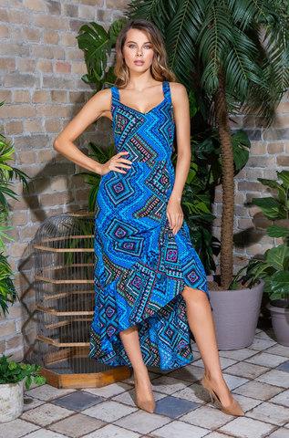 Платье сарафан  MIA-MIA Jana 16436 синий