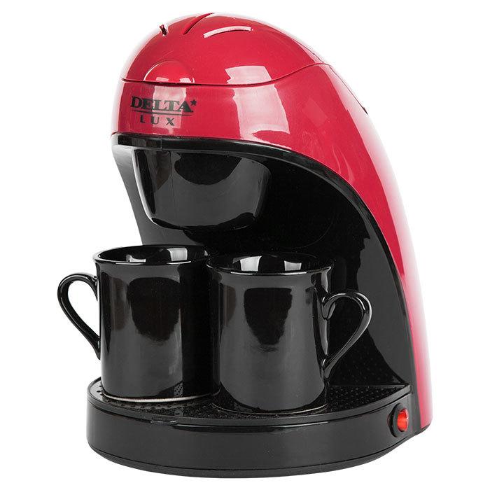 Кофеварка DELTA LUX DL-8132