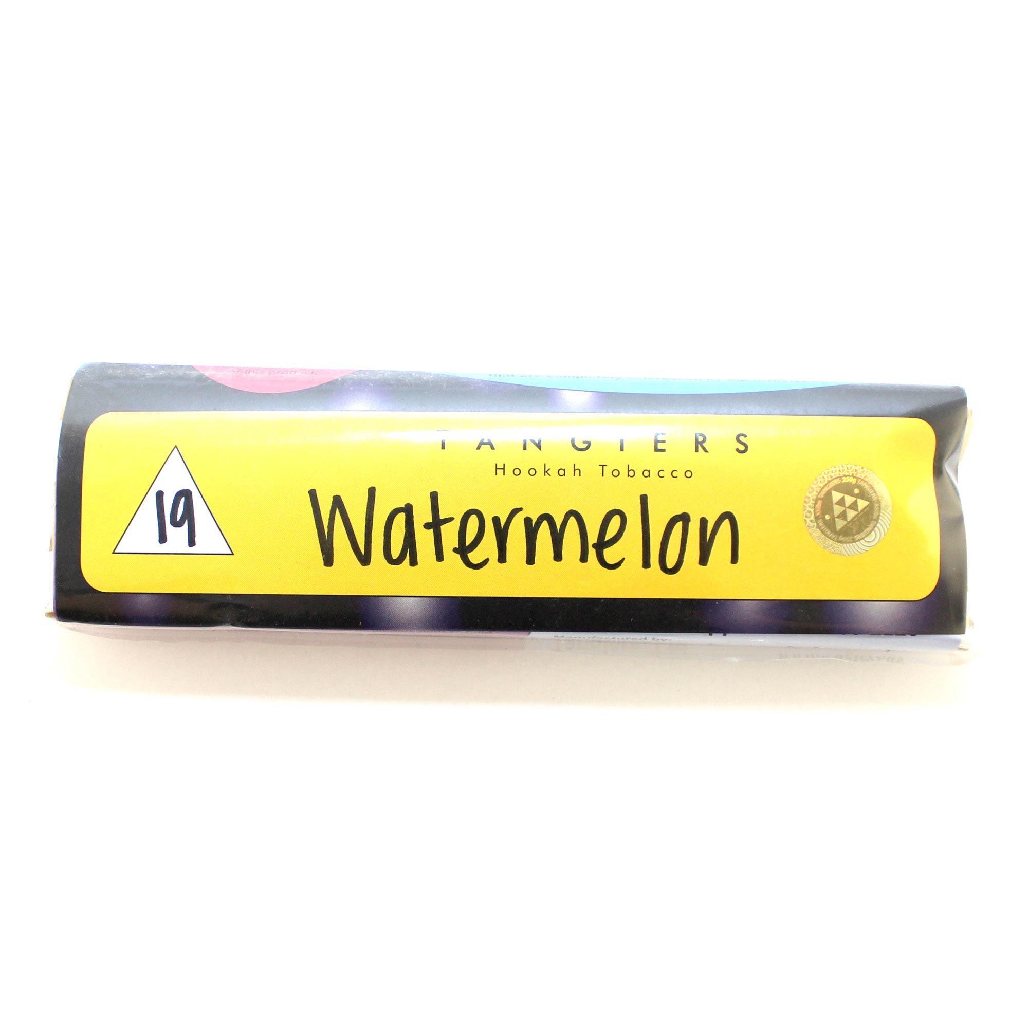 Табак для кальяна Tangiers Noir (желт) 19 Watermelon 250 гр.