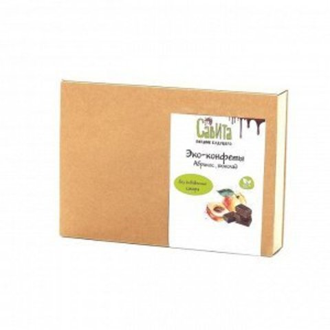 Савита экоконфеты «Абрикос шоколад» 300 г