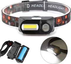 Налобный фонарик double light source headlight kx 1804