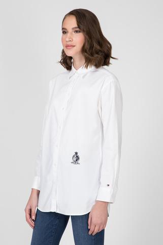 Женская белая рубашка FAWN BOYFRIEND SHIRT Tommy Hilfiger