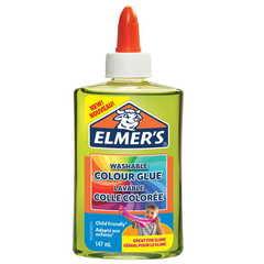 Клей для слайма Elmer's Color Glue зеленый прозр 147 мл