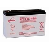 Аккумулятор EnerSys Genesis NP10-6 ( 6V 10Ah / 6В 10Ач ) - фотография