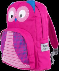 Рюкзак детский Redfox Owl малиновый
